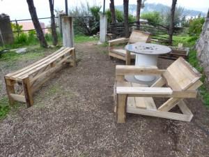 Atelier transformation et construction en bois de palettes for Atelier du jardin d acclimatation